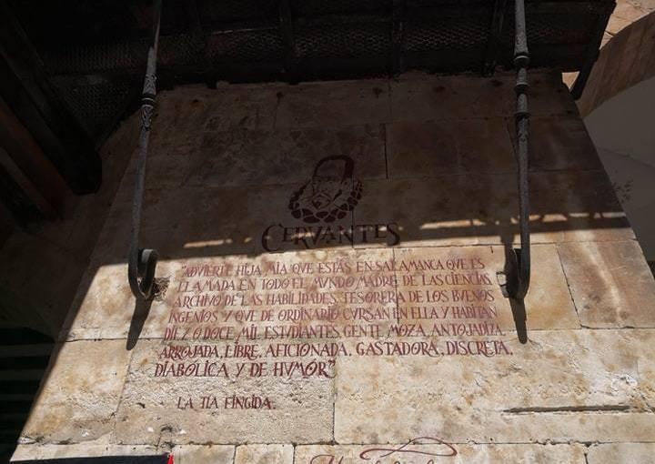 Mañanitas por El Corrillo con don Miguel de Cervantes y su magistralpluma
