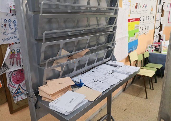 El primer día que fui contigo a votar en las elecciones y mi primer 'boto'