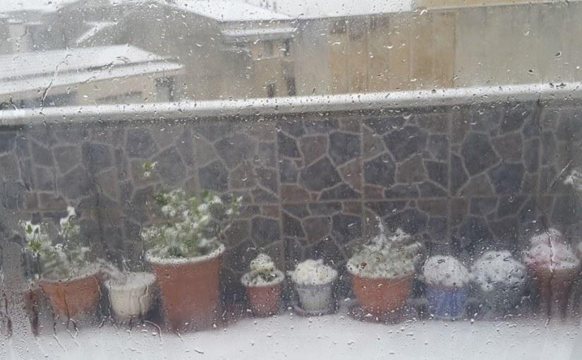 Los inolvidables días de nieve, de muñecos y de guerras debolas