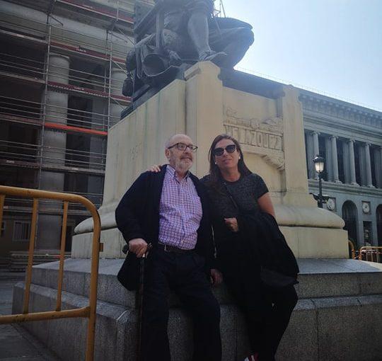 El Día Internacional de los Museos, nuestra visita al Prado y una foto conVelázquez
