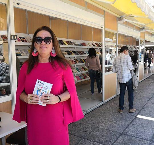 Emociones contenidas viendo tus libros en la Feria Municipal deSalamanca