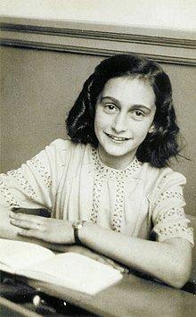 Recordando a Ana Frank en el día de la fiesta del patrón deSalamanca