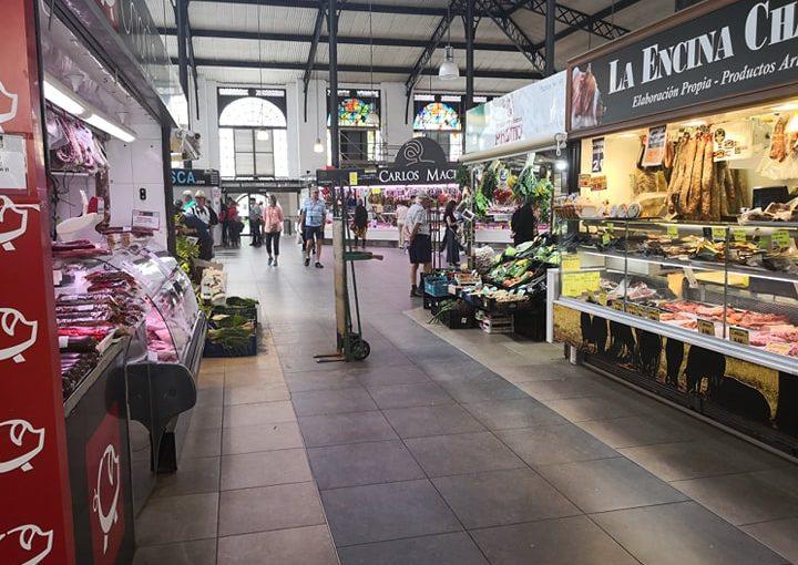 Mañanitas en el mercado central recordando historias de miniñez