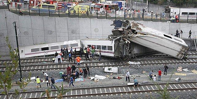 Seis años del accidente ferroviario de Santiago de Compostela y un ataque terroristafrustrado