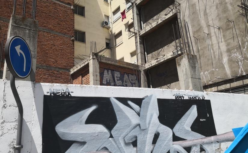 El graffiti de 'Meas', el cumple de Marta y Adriana y un ajetreado día dejulio